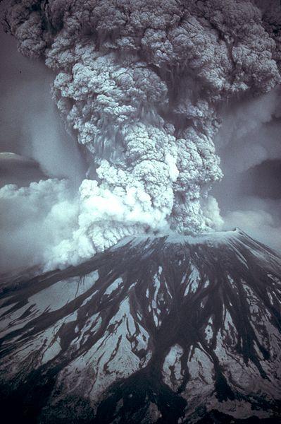 Ausbruch des Mount St. Helens (USGS)