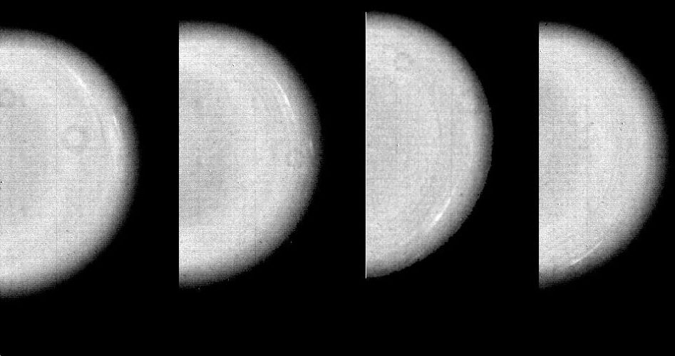 Wolkenbewegungen auf Uranus (Courtesy of NASA / JPL)