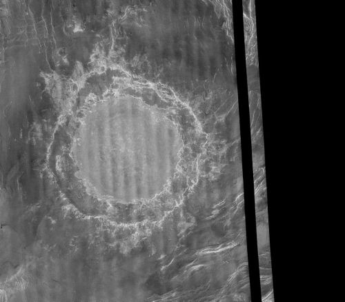 Krater Mead (Courtesy of NASA / JPL)