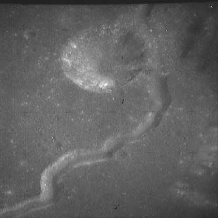 Hadley-Rille (Courtesy of NASA / Apollo 15)