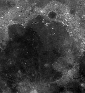 Mare Imbrium (Courtesy of NASA)