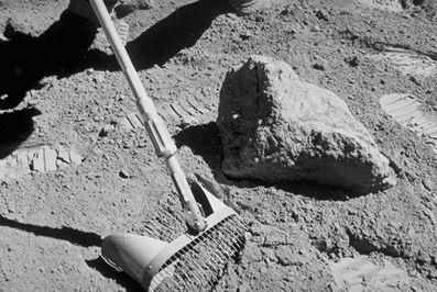 Mondregolith (Courtesy of NASA / Apollo 16)
