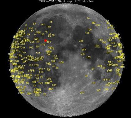 Das Überwachungsprogramm registrierte hunderte Meteoroiden-Einschläge, darunter auch einen besonders starken (siehe die Videos unten). (Science@NASA)
