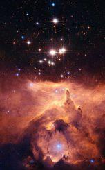 Astro-Bild der Woche, Sternentstehungsregion, Weltraumteleskop Hubble, Strahlung, Emissionsnebel