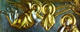 Vergoldung am Goldenen Altar von St. Ambrogio in Mailand, 9. Jahrhundert n. Chr. (American Chemical Society)