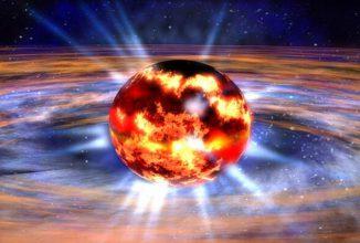 Neutronensterne sind extrem kompakt und haben eine enorm große Masse, deswegen besitzen sie sehr starke Gravitationsfelder. (NASA Illustration)