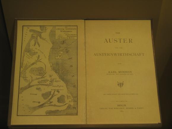 """Kopie der Originalveröffentlichung """"Die Auster und die Austernwirthschaft"""" von Karl August Möbius. (astropage.eu mit freundlicher Genehmigung von Dr. Wolfgang Dreyer)"""