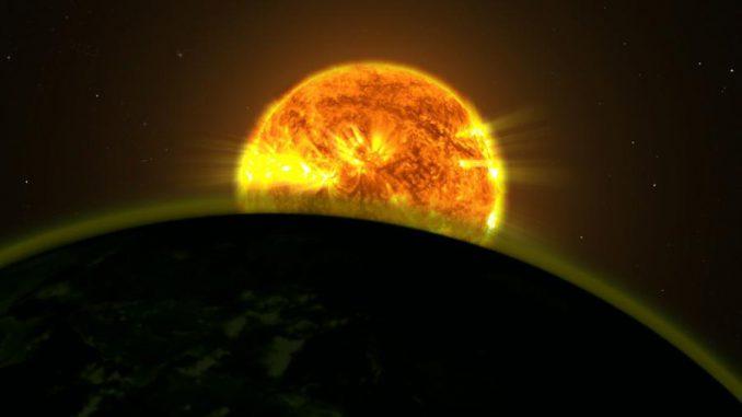 Exoplaneten, Weltraumteleskop Hubble, Atmosphäre, Wasser, Absorption