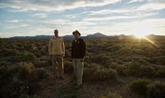 Die Geologen Myron Best und Eric Christiansen am Ort der Entdeckung. (Brigham Young University)