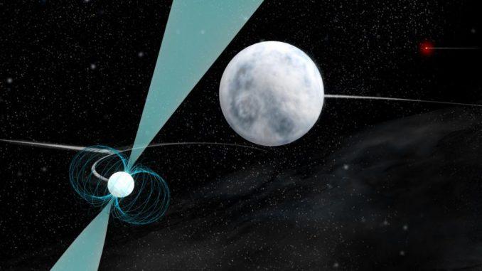 Neutronenstern, Relativitätstheorie, Millisekundenpulsar, Weißer Zwerg, Gravitation