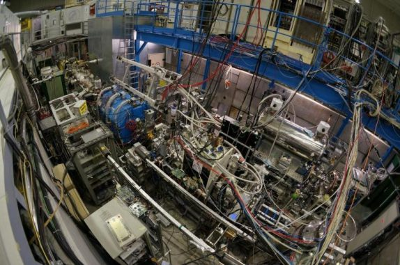 Das ASACUSA-Experiment am Europäischen Kernforschungszentrum CERN. (Image by Yasunori Yamakazi)