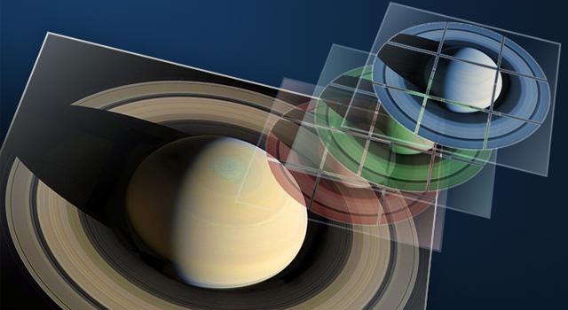 Anlässlich der Feierlichkeiten zum zehnjährigen Jubiläum Cassinis im Saturnsystem lädt die Cassini-Mission die Öffentlichkeit ein, Amateurbilder aus den Bilddaten der Raumsonde zu erstellen und einzureichen. (NASA / JPL-Caltech)