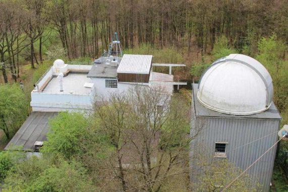 Sternwarte Hagen, Tag der Astronomie 2014, Teleskop, Planeten, Galaxien