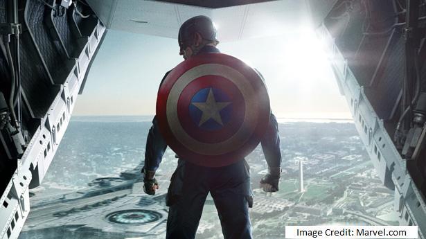 Die Comic-Figur Captain America mit dem aus wissenschaftlicher Sicht sehr interessanten Schild. (Marvel.com)