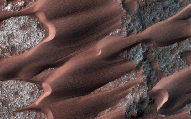 Mars, Dünen, Wind, Erosion, Mars Reconnaissance Orbiter MRO