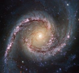 Die Seyfert-Galaxie NGC 1566, aufgenommen vom Weltraumteleskop Hubble. (ESA / Hubble & NASA; Acknowledgement: Flickr user Det58)