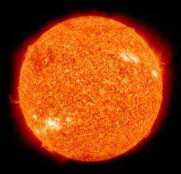Veränderungen in der solaren Aktivität wirken sich auch auf das Klima der Erde aus. (NASA)