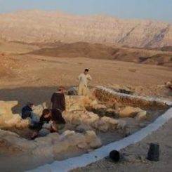 Ausgrabungen am Slaves Hill im Arava-Tal in Israel. (CTV project at Tel Aviv University)