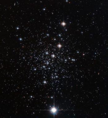 Der Kugelsternhaufen Palomar 12 in den Außenbereichen unserer Milchstraßen-Galaxie, aufgenommen vom Weltraumteleskop Hubble. (ESA / Hubble & NASA)