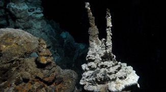 Die Mikroben wurden im Atlantik zwischen Grönland und Norwegen in einer Tiefe von 2.352 Metern gefunden. (Photograph: R. B. Pedersen, Centre for Geobiology (University of Bergen, Norge))