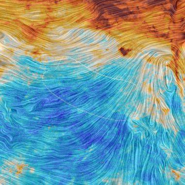 Emissionen des galaktischen Staubs, basierend auf Daten des Weltraumteleskops Planck. (ESA / Planck Collaboration)