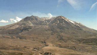Der Vulkan Mount St. Helens im US-Bundesstaat Washington. Die Eruption eines Supervulkans ist mehr als 500 Mal stärker als der Ausbruch des Mount St. Helens vom 18. Mai 1980. (United States Department of Agriculture)