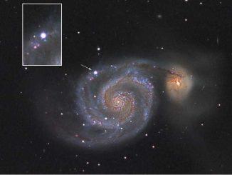 Supernova, Schockwelle, Geschwindigkeit, Materie, Radiowellen