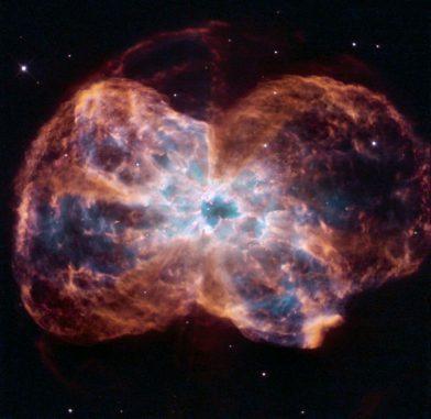 NGC 2440, aufgenommen vom Weltraumteleskop Hubble. (NASA / JPL / STScI / AURA)
