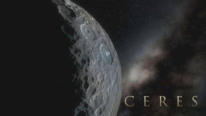 Simulierte Ansicht des Zwergplaneten Ceres auf Basis von Bildern der Raumsonde Dawn. (NASA / JPL-Caltech / UCLA / MPS / DLR / IDA)