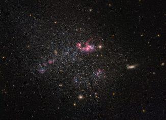 UGC 4459, aufgenommen vom Weltraumteleskop Hubble. (ESA / Hubble & NASA; Acknowledgement: Judy Schmidt (Geckzilla.com))