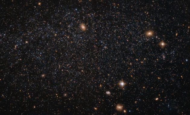 Hubble-Aufnahme der Zwerggalaxie Leo A. (ESA / Hubble & NASA; Acknowledgement: Judy Schmidt (Geckzilla))