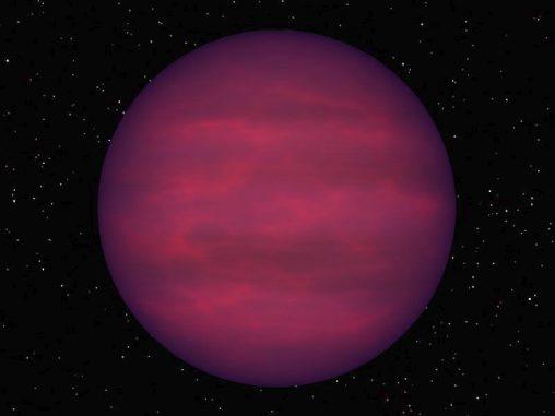Illustration eines Braunen Zwergs. (R. Hurt / NASA)