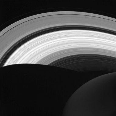 Die Saturnringe, aufgenommen von der Raumsonde Cassini am 14. August 2016. (NASA / JPL-Caltech / Space Science Institute)