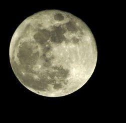 Der Mond könnte in seiner frühen Vergangenheit ein Magnetfeld besessen haben (Photo by Monica Murphy)