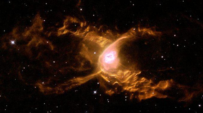 Der Red-Spider-Nebel (ESA & Garrelt Mellema (Leiden University, the Netherlands)