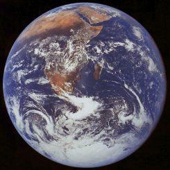 Die Erde (NASA / JPL)