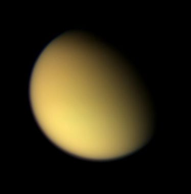 Der Saturnmond Titan (NASA / JPL / Space Science Institute)