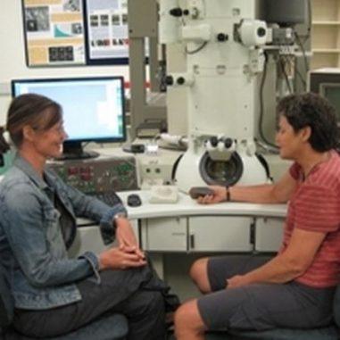 Assistenzprofessorin Alexandra Suvorova (links) und Dr. Janet Muhling (UWA)
