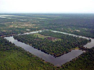 Luftaufnahme von Angkor Wat (Charles J Sharp)