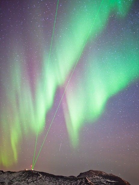 Nordlicht über Andøya Rakettskytefelt, Norwegen (Vegard Laupstad)