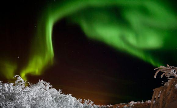 nNordlicht über Schweden (Peter Rosén)
