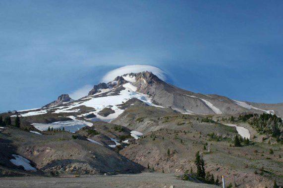 Der Mount Hood im US-Bundesstaat Oregon (Photo courtesy Alison M Koleszar / Oregon State University)