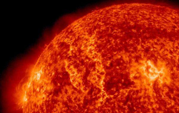 Momentaufnahme des solaren Filaments (NASA / SDO)