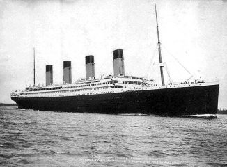 Die RMS Titanic am 10. April 1912 (Francis Godolphin Osbourne Stuart (1843-1923))