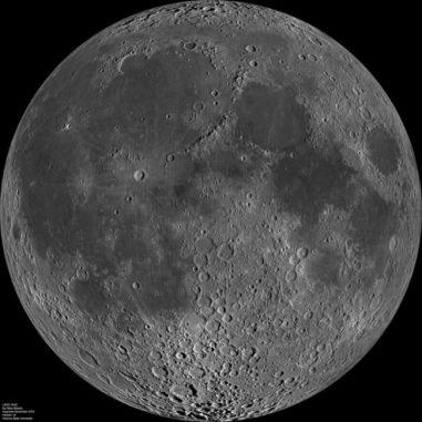 Der Mond (NASA / GSFC / Arizona State Univ. / Lunar Reconnaissance Orbiter)