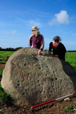 Der Trefael-Stein (Image copyright Adam Stanford, Tom Wellicome and George Nash)