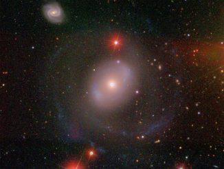 Die Galaxie NGC 4151 liegt 45 Millionen Lichtjahre entfernt im Sternbild Jagdhunde und ist eine der hellsten aktiven Galaxien im Röntgenbereich. (David W. Hogg, Michael R. Blanton, and the Sloan Digital Sky Survey Collaboration)
