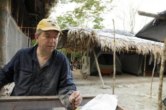 Stephen Houston bei der Arbeit. (Arturo Godoy)