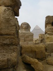 Die Sphinx und die Große Pyramide von Gizeh (U.S. Geological Survey / Benjamin P. Horton, University of Pennsylvania)