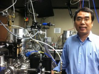 Dr. Chang im Florida Atto Science and Technology Laboratory (FAST). (University of Central Florida)